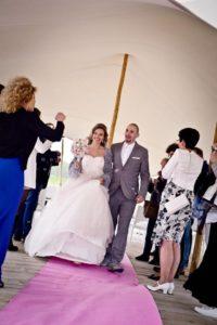 bruiloft ferry en sylvana