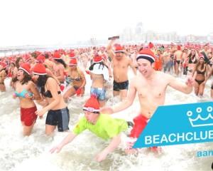 Nieuwjaarsduik Beachclub Puur